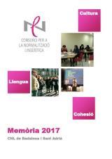 Memòria 2017 i Quadre de comandament del CNL Badalona i Sant Adrià