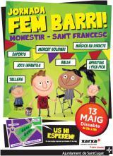 Jocs i cinema en català a la festa major de Sant Francesc a Sant Cugat