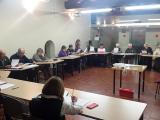 A Sant Quirze, alumnes dels cursos de català, voluntaris i aprenents acomiaden l'any