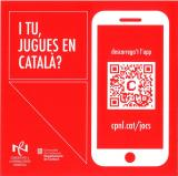 """Concurs fotogràfic """"I tu, jugues en català?"""". Participa-hi!"""