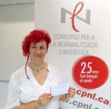 Mercedes Molina Pardo, guanyadora del premi L'Heura Digital número 100