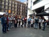 Alumnes dels cursos de català,  voluntaris i aprenents del VxL del CNL del Vallès Oriental participen en la Ruta Pompeu Fabra