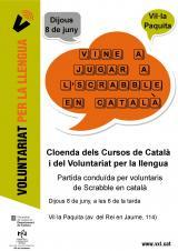 Juguem a l'Scrabble en català en la cloenda del VxL i dels cursos de català de Cardedeu