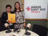Entrevista a Ràdio Sant Boi amb motiu del nou període d'inscripció als cursos de català