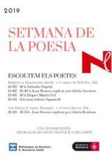 Escoltem els poetes a la Setmana de la poesia