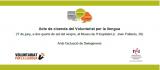 Acte de cloenda del curs de Voluntariat per la llengua a l'Hospitalet