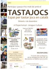 Tastajocs. Espai per tastar jocs en català