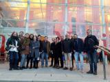 L'alumnat i el voluntariat de Sant Feliu de Llobregat van al TNC
