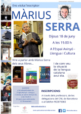 Ens visita l'escriptor Màrius Serra