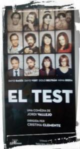 Hem anat a veure l'obra El test