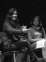 Alumnes de Sant Cugat conversen amb l'escriptora Tània Juste
