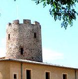 Alumnes del Bàsic 1 a la torre de guaita del s. XI