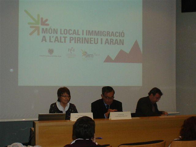 Món local i immigració a l'Alt Pirineu i Aran