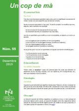 <i>Un cop de mà</i> 55, full d'aclariments lingüístics del CNL del Vallès Oriental