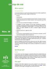 <i>Un cop de mà</i> juliol 2013, núm. 29