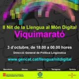 La història de la llengua serà protagonista de la II Nit de la Llengua al Món Digital