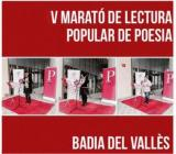Marató Popular de Poesia a Badia del Vallès
