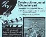 Celebració del 20è aniversari del Cicle de Cinema Infantil a Sant Feliu de Llobregat