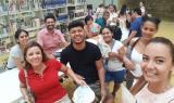 Alumnes del CNL de Cornellà visiten la biblioteca