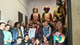 Els alumnes de Berga coneixen les figures de la Patum