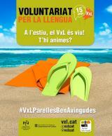 Milions d'hores de conversa en català en els 15 anys de Voluntariat per la llengua!