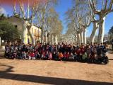 Voluntariat per la llengua a l'Escola Joan de Margarit de la Bisbal