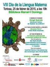 Commemoració del Dia de la Llengua Materna a Tortosa