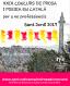 El Servei Local de Català de Sant Just Desvern convoca el XXIX Concurs de Prosa i Poesia en Català Sant Jordi 2017.