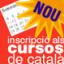 Inscripció als cursos de català d'abril de 2017
