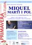 Parlem de poesia: Miquel Martí i Pol