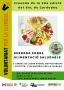Xerrada sobre alimentació saludable al Museu de Cardedeu en la cloenda del VxL
