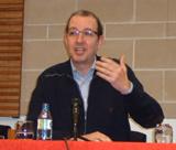 El periodista Antoni Bassas va parlar del català i els mitjans de comunicació, a Sant Sadurní