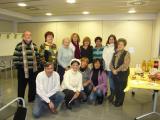 Berenar de cloenda de l'edició de tardor i hivern  del Voluntariat per la llengua a Polinyà