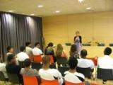 L'alumnat de Tortosa acaba el curs amb una visita a la Biblioteca