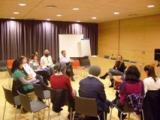 Tertúlia de l'obra 'Conte de Nadal', de Dickens, al Club de Lectura Fàcil de Tortosa