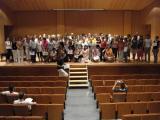 Cloenda dels cursos de català 2008-09 i de la 1a edició del Voluntariat per la llengua a Abrera