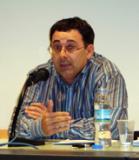 Ferran Espada presenta la situació del català als mitjans de comunicació a Sant Pere de Ribes