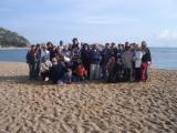 Alumnes de nivell bàsic de Blanes visiten Tossa de Mar per seguir la ruta dels indians