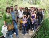 L'itinerari 'Avui, què fem?' visita la reserva de Sebes i un refugi antiaeri