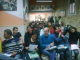 Els alumnes de català fan pinya amb els Castellers de Sants