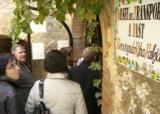 Una trentena d'alumnes i voluntaris de la Ribera d'Ebre visiten Llaberia