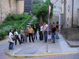 Alumnes dels cursos bàsics del CPNL fan una visita guiada per Balaguer