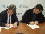EL CNL del Maresme i el Patronat Municipal de Cultura de Mataró signen un acord per promoure el voluntariat lingüístic