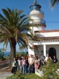 Alumnes de Calella visiten el far