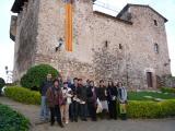 El Voluntariat per la llengua i els alumnes de català de Polinyà visiten la Fundació Folch i Torres situada al Castell de Plegamans