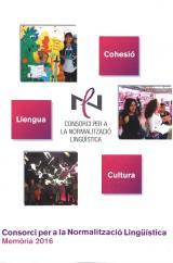 Memòria 2016: el Consorci per a la Normalització Lingüística ha organitzat 3.455 cursos de català, amb un total de 74.610 inscripcions