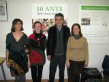 El CNL de Cornellà del Llobregat rep un dels premis Lectura Fàcil 2012