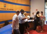 Entrega de certificats a l'alumnat de les Tertúlies en català al Consell Comarcal del Montsià