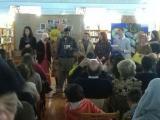Alumnat de l'SCC del Montsià participa a l'acte del Dia de la Llengua Materna a Amposta