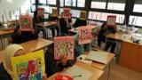 Cloenda d'un curs de català Inicial a l'escola de Jesús